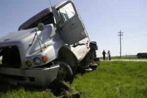 big truck wreck